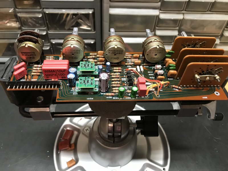 sparkos labs vintage Marantz audio upgrade