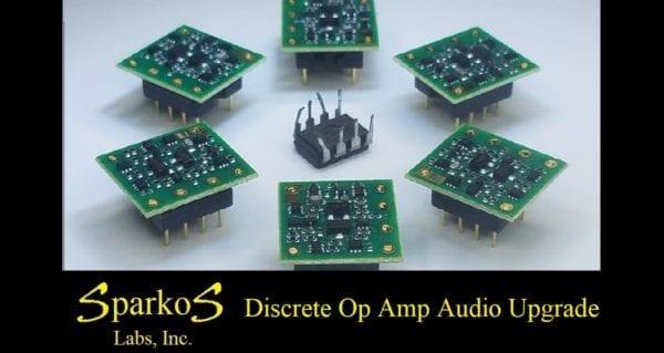 Sparkos Labs Discrete Op Amps